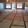 Radiant Heat in the daylight basement.